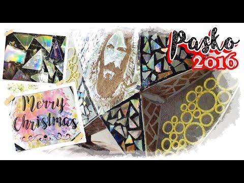 Recycled PAROL (Bamboo, CDs, atbp) ft. JESUS CHRIST Pop Art   CHRISTMAS 2016