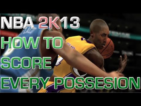 Nba 2k13 Tips and Tricks - HOW TO SCORE EVERY POSSESSION - SCORING EVERYTIME! Nba 2k13 Tutorial