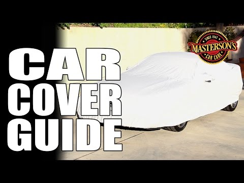 How To Properly Use Car Covers - Masterson's Car Care - California Car Cover