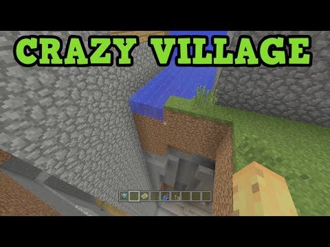 Minecraft Xbox 360 / PS3 Seed - BROKEN VILLAGE