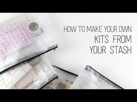 How to make your own Project Life kits from your stash