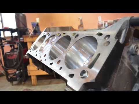 545 ci big block ford (460 stroker) build