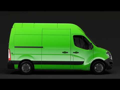 3D Model of Nissan NV 400 L2H3 Van 2017 Review