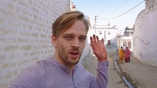 I LIVED IN AN INDIAN VILLAGE! 🐮 Foreigner Reactions to Rural Life in India