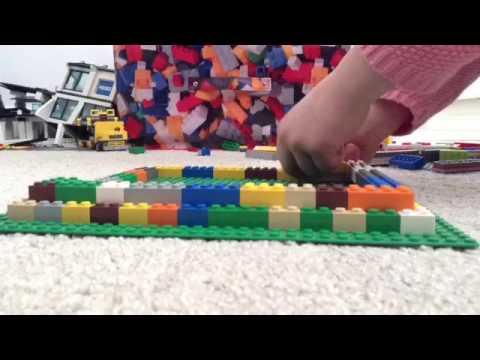 Building a Lego Pyramid Part 1