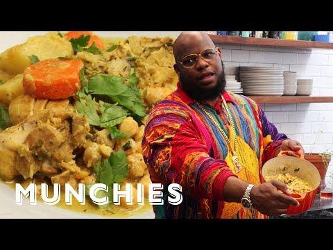 Meyhem Lauren Cooks Late Night Curry Chicken