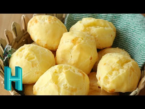 How to Make Pão de Queijo - Brazilian Cheese Bread |  Hilah Cooking