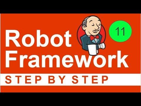 Robot Framework Beginner Tutorial 11 - How to run Robot tests from JENKINS