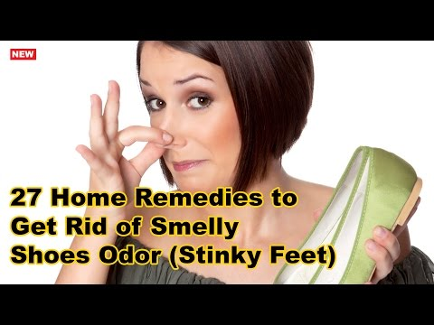 27 Home Remedies to Get Rid of Smelly Shoes Odor (Stinky Feet) | Natural Home Remedies