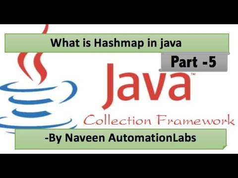 How to use HashMaps in Java || Hashmap in java with example program - Part 5