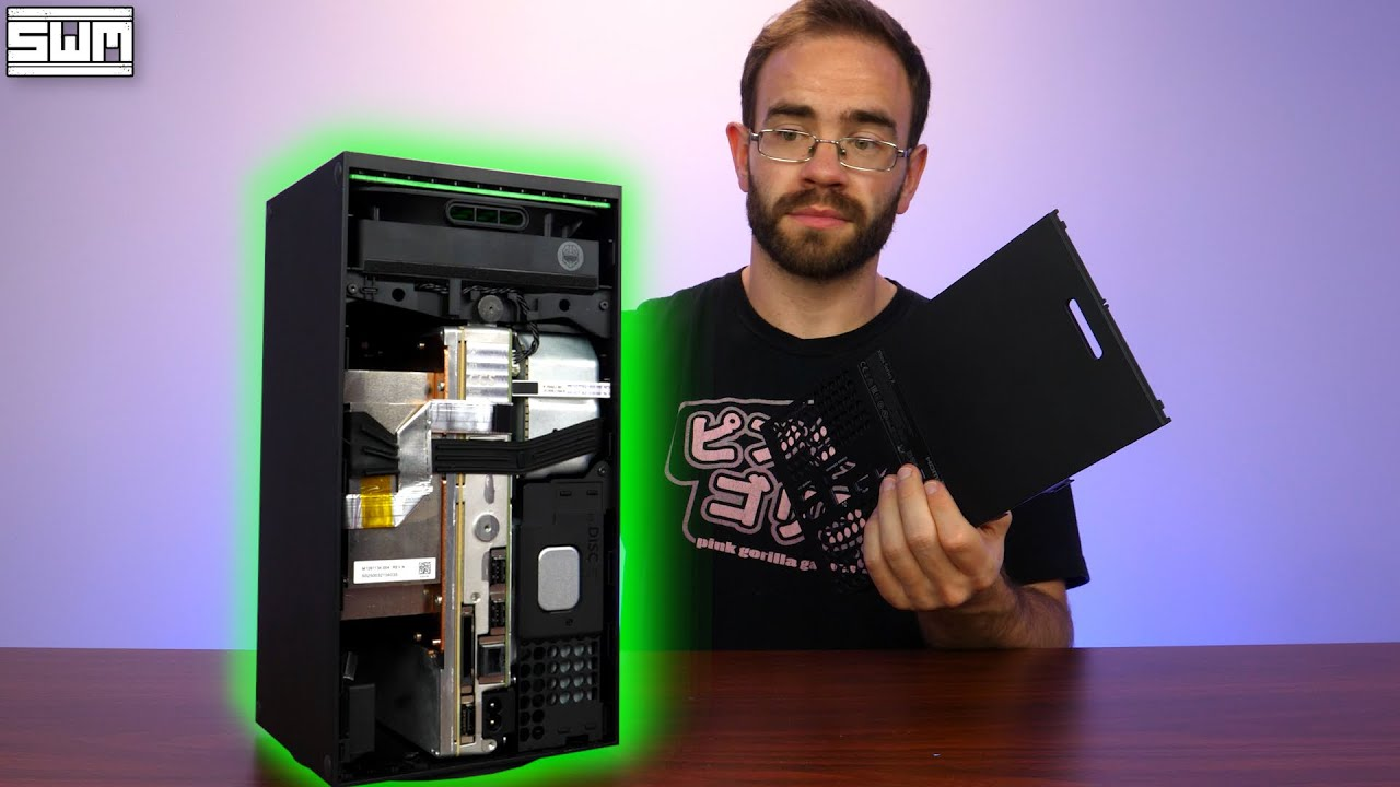 I Took Apart The Xbox Series X And...