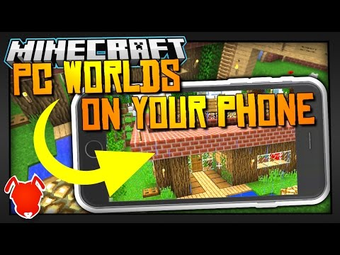 PLAY MINECRAFT JAVA WORLDS on POCKET EDITION?