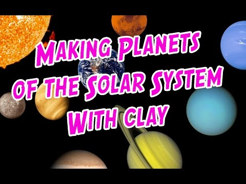Making Planets of the Solar System using Super Clay Part 1