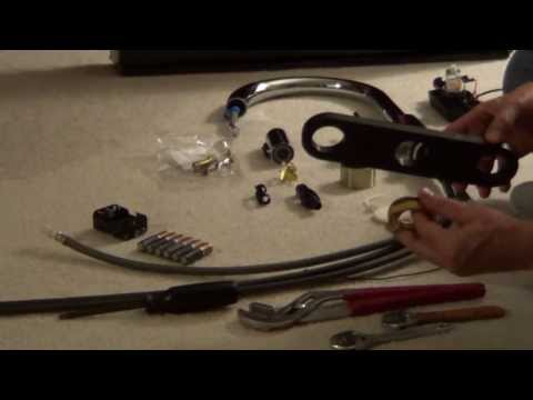 Delta Touch Faucet  - How to Install a Delta Touch Faucet step by step