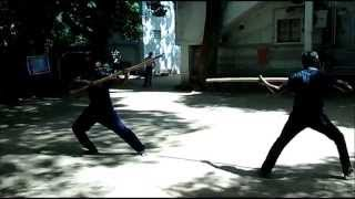 silambam fight real