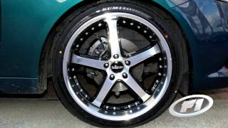 Ford Fg Falcon Fitted With Custom 20 Inch King Korrupt Rims