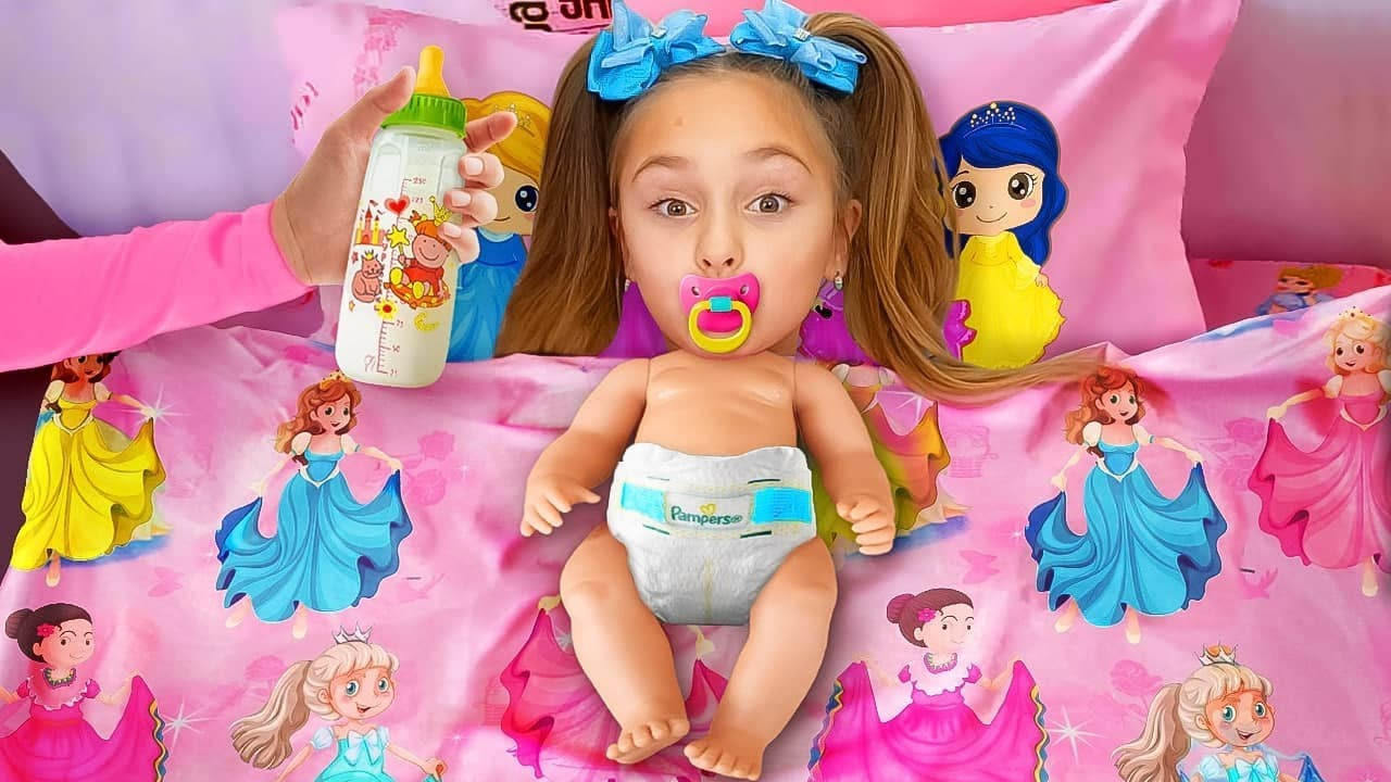 Sasha e historias divertidas sobre cómo convertirse en niños y una boda con una muñeca