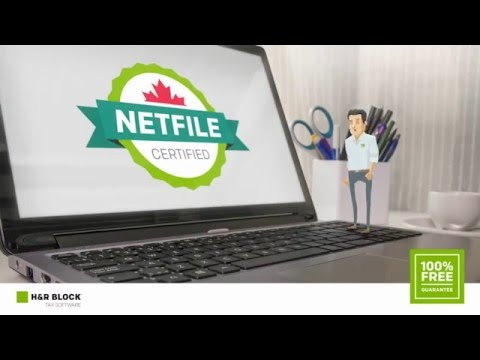 H&R Block Canada - Tax Software - NETFILE certified