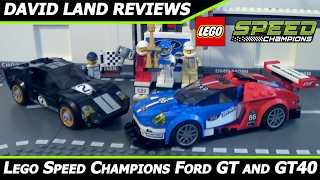 Lego Speed Champions Ford Gt And Gt Hd Unboxing Review