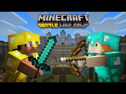 Minecraft: Xbox One Edition - We Can't Be Friends. DIE!!!! [Battle Mini Games]