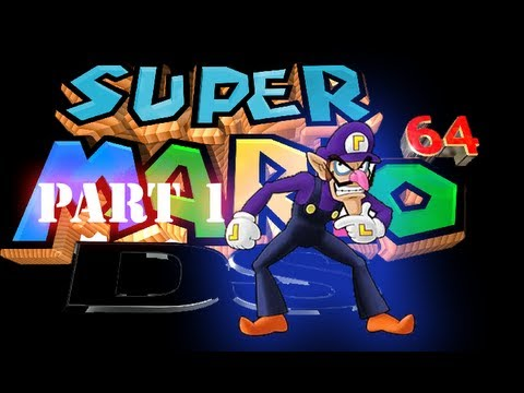 Waluigi (Maybe) Found In Super Mario 64 DS By Arceus2401!! [Part 1] [GAME SPECULATION]