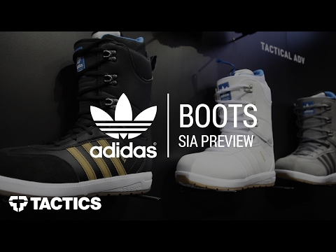 Adidas 2018 Snowboard Boots | SIA Preview - Tactics.com