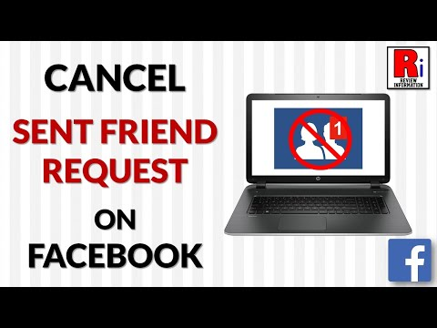 HOW TO CANCEL SENT FRIEND REQUEST IN FACEBOOK FROM COMPUTER
