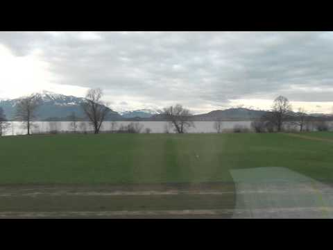 Train Ride from Zurich to Lucerne