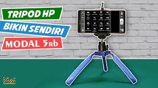 Ga Usah Beli.! Cara Membuat Tripod HP Menggunakan Barang Bekas | DIY Tripods For Smartphone