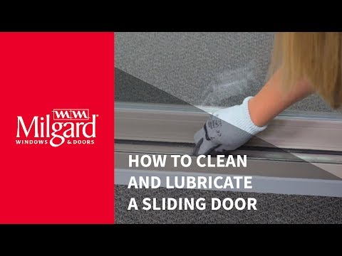 How to Clean and Lubricate a Sliding Patio Door