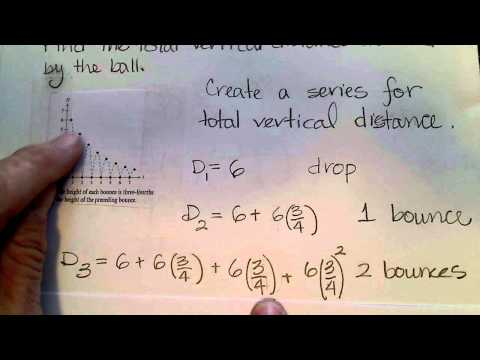 Section 9.2 Continued.  Geometric Series Examples and Applications