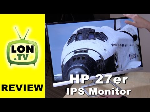 HP 27er Monitor Review - $200 IPS 27 inch 1080p budget display