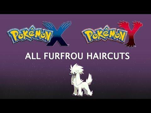 Pokémon XY: FURFROU HAIRCUTS