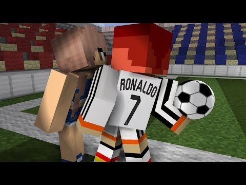 Monster School: Soccer Challenge - Minecraft Animation