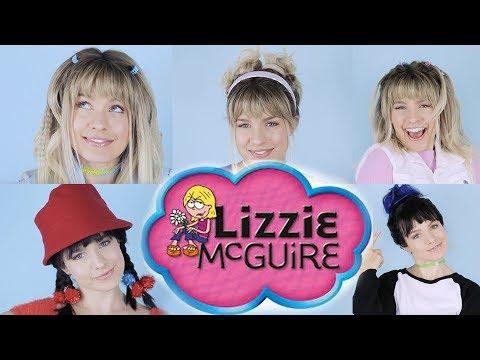 Halloween Hairstyles: Lizzie McGuire & Miranda Hair Tutorial - KayleyMelissa