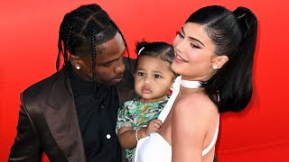 Kylie Jenner and Travis Scott Smile With Daughter Stormi During Her Red Carpet Event Debut!