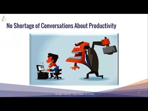 Improving Employee Productivity With Continuous Improvement