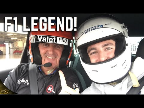 SILVERSTONE LEGEND SHOWS ME HOW TO DRIVE A RACE CAR!