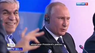 """Putin Replies To """"Neutral"""" Journalist: You Are The First Person I See Of Such Characteristic"""