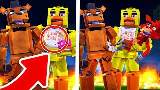 99% IMPOSSIBLE TO BECOME A FNAF FAMILY (HAVE A FAMILY IN MINECRAFT)
