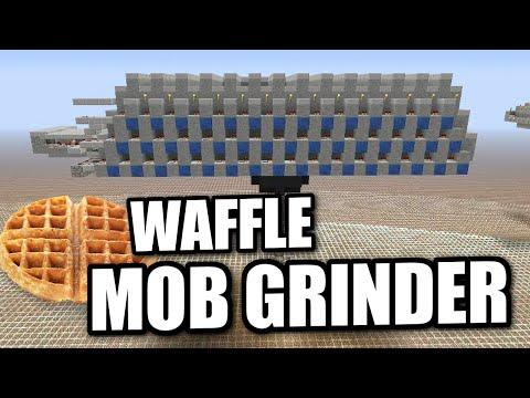 Minecraft PS4 - MOB GRINDER [ AUTOMATIC ] Tutorial ( PE / PS3 / XBOX / WII U )