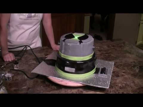 Part  7-  Completion Of The Omnitrix Cake