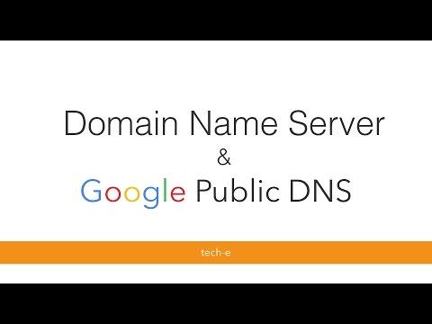 Domain Name Server and Google Public DNS