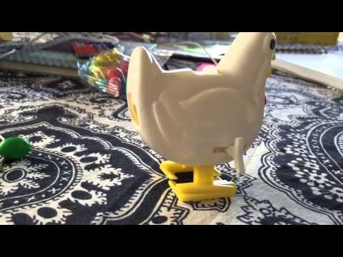 Candy pooping chicken