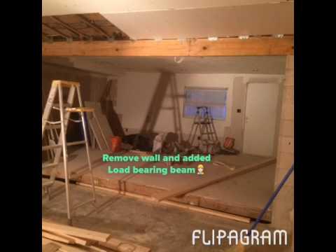 DIY Living room addition renovation