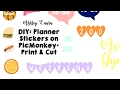 DIY   planner stickers and how to print and cut   Ashley Laura