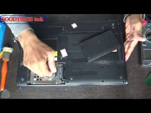 Sony Vaio E Series Laptop | HardDrive Replacement.