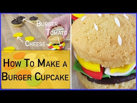 How  To Make A Burger Cupcake - Food Cakes
