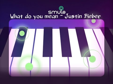 What Do You Mean - Smule Magic Piano