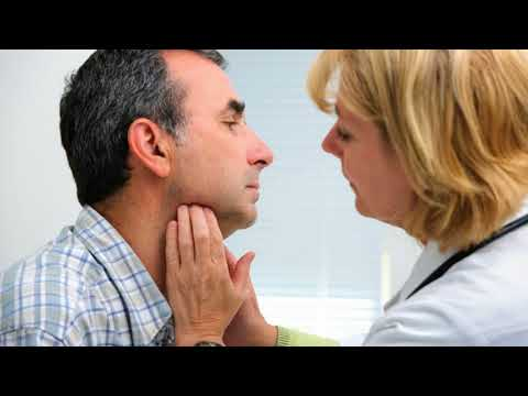 What should I do if I find swollen lymph glands